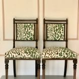 Pair of Leopard Chairs 5