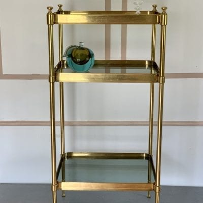Tall Brass Table