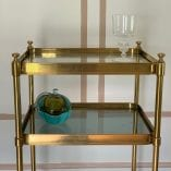 Tall Brass table 1