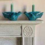 Turquoise bird 9