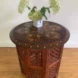 Indian brass table 4
