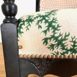 Scalloped chair