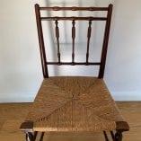 Rush chair 1