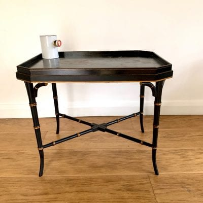 Ebonised table 9