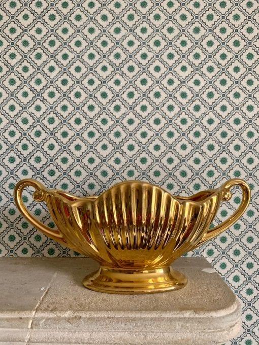 Gold vase 5