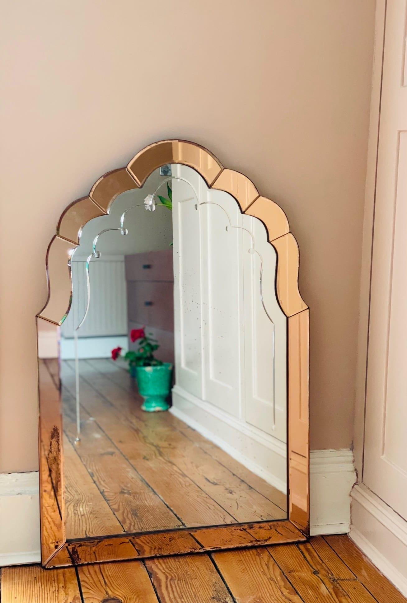 Peach mirror 1