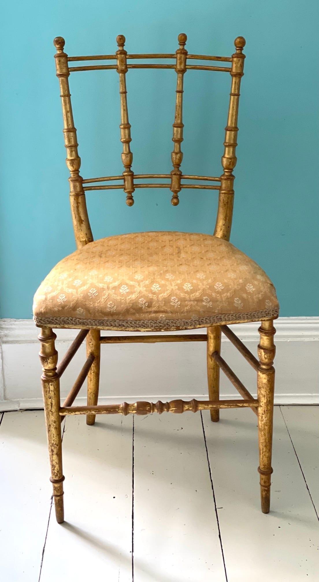 goldl chair 6