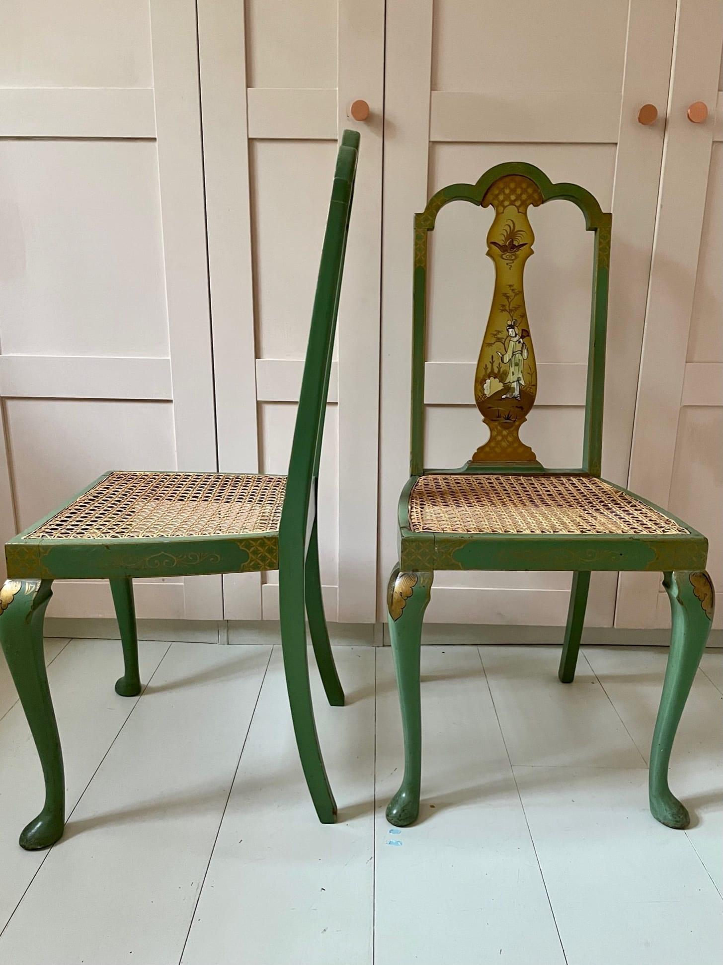 green chair 3