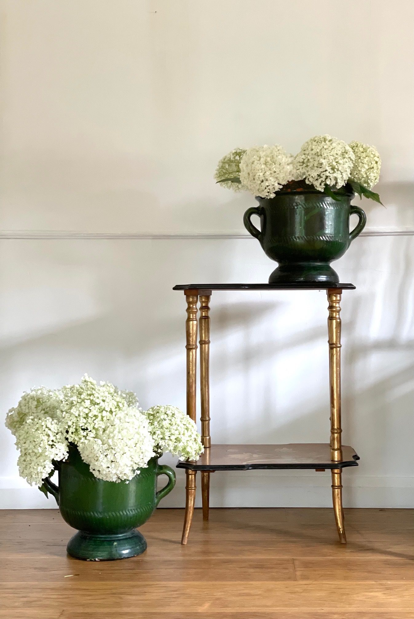 pair of green planters 2